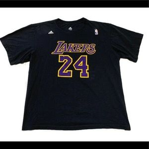 Adidas NBA Kobe Bryant Los Angeles Lakers T Shirt